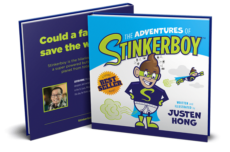 Stinkerboy both covers